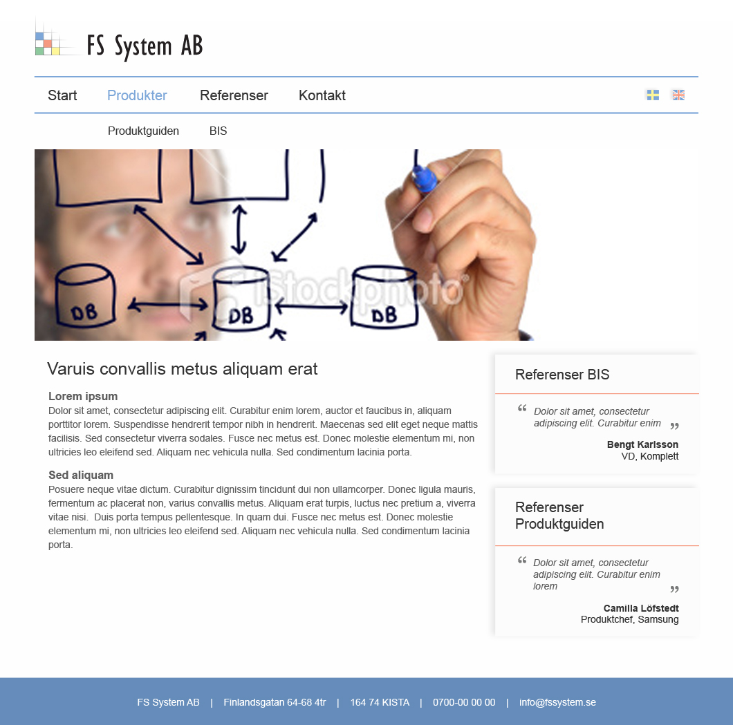Design, FS System undersida