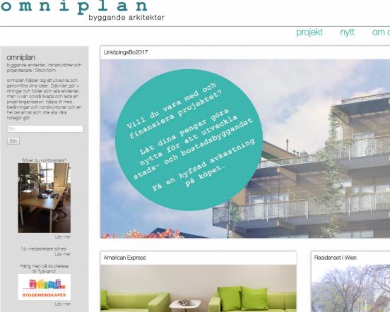 Design gjord i nära samarbete med Omniplan